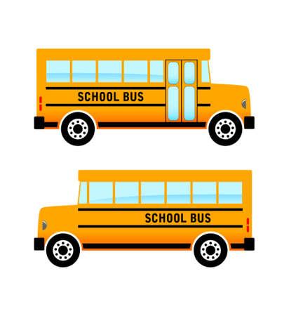 Schulbus Standard-Bild - 17740496