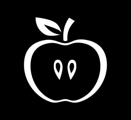 Apple icon Stock Vector - 18149785