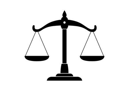 law scale: Scale icon