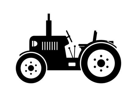 Tractor icon Stock Vector - 18232316
