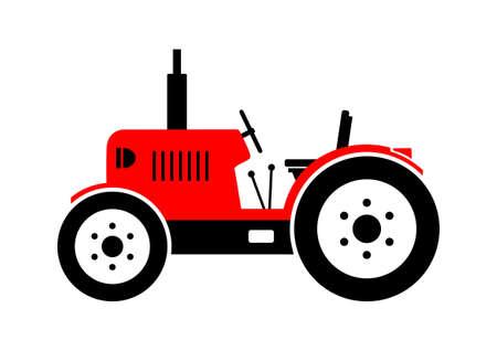 Tractor icon Vector Illustration