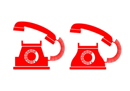 Telephone icons   Stock Vector - 18647011