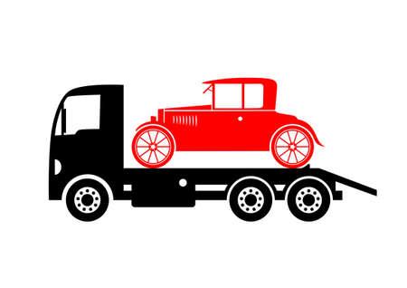 Tow truck  Stock Vector - 18647010