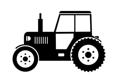Tractor icon Stock Vector - 18647008