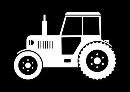 Tractor icon Stock Vector - 18647007