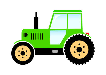Tractor icon Stock Vector - 18647009