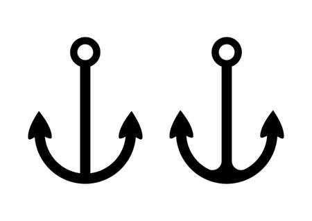 Anchor icons Stock Vector - 18717177