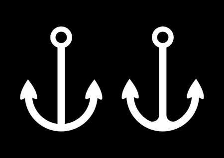 Anchor icons Stock Vector - 18717176