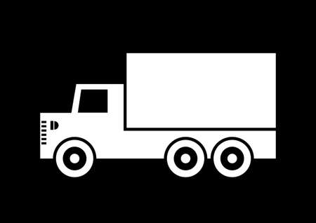 Truck icon Stock Vector - 18717217