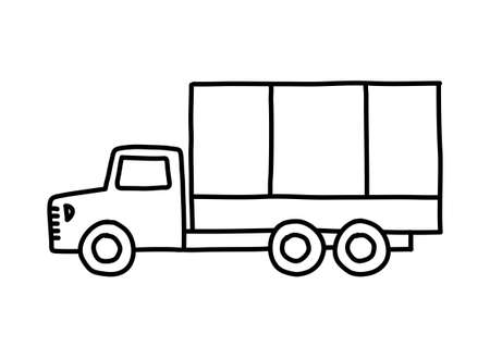 Truck sketch Stock Vector - 18791994