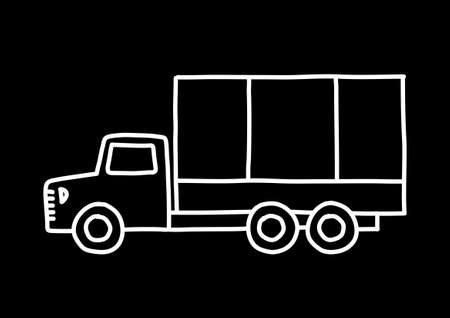 Truck sketch Stock Vector - 18791990