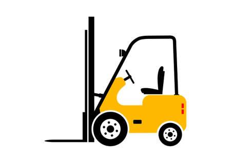 Wózek widłowy icon Ilustracje wektorowe