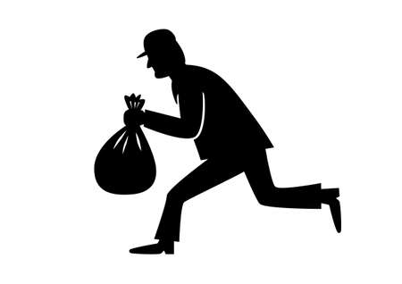 Thief icon Stock Illustratie