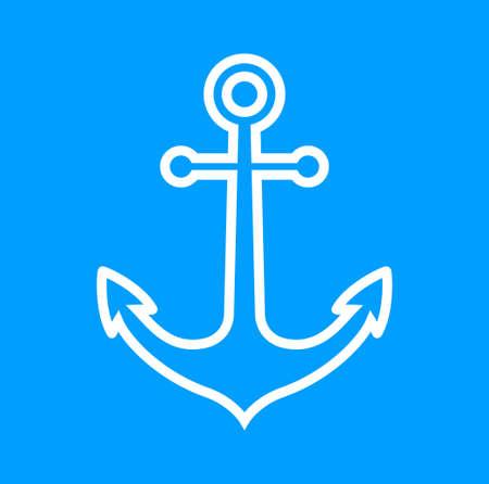 Anchor icon Stock Vector - 18865371
