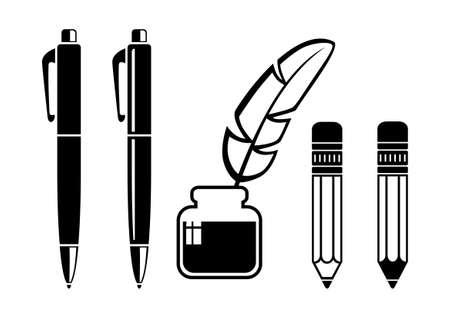 Writing tools Stock Vector - 18956915
