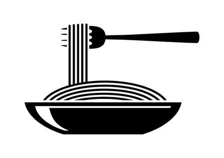 Espaguetis icono