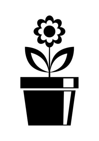 flower vase: Flower icon