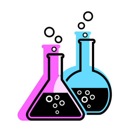 laboratory glass Stock Vector - 19506736