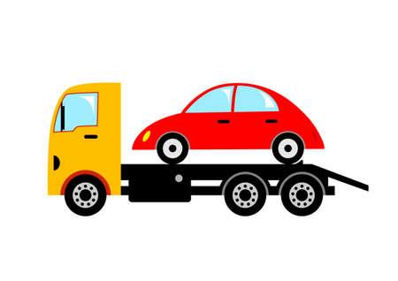lorries: Carro attrezzi Vettoriali