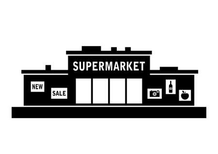 commercial: Supermarket icon