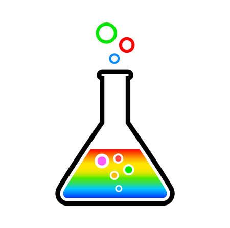 Laboratory glass Vectores
