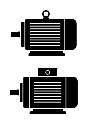 electric motor: Electric motor icons