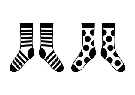 hosiery:   Socks on white background