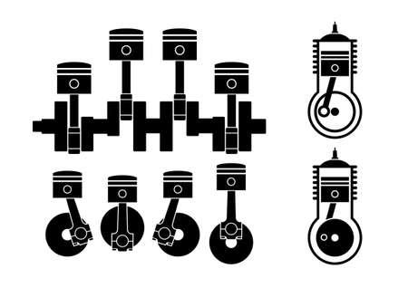 diesel engine: Car pistons