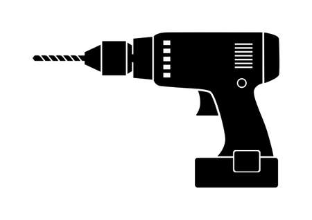 Drill icon  Illustration