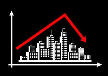 City graph Stock Vector - 21774550
