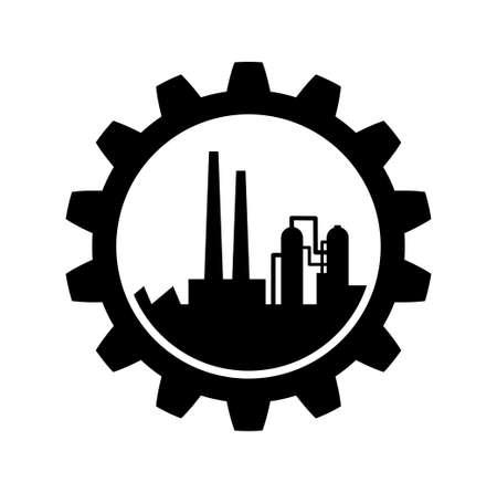 Icon Industrial Foto de archivo - 22786039