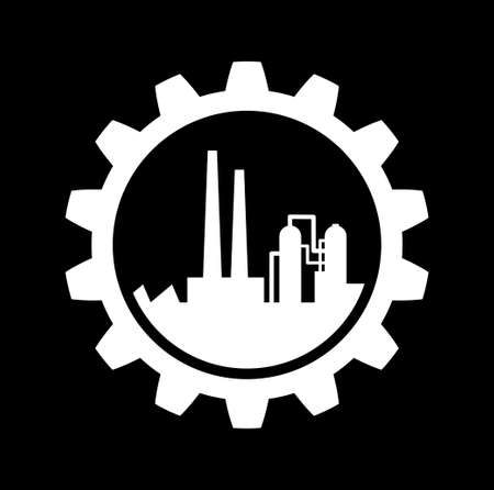 Industrial icon   Stock Vector - 22786040