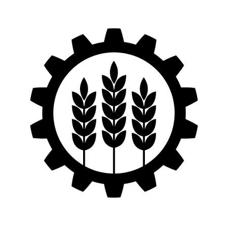 agriculture industry: Industrial and agricultural icon