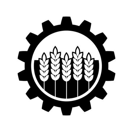 Industrial and agricultural icon   Vector