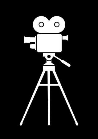 camara de cine: Pel�cula de c�mara Vectores