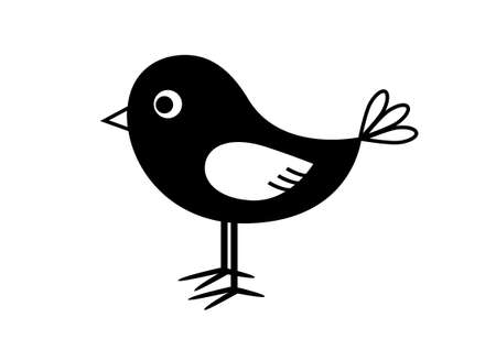 bird icon: Bird icon Illustration