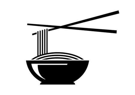 Noodle icon Banco de Imagens - 27316927
