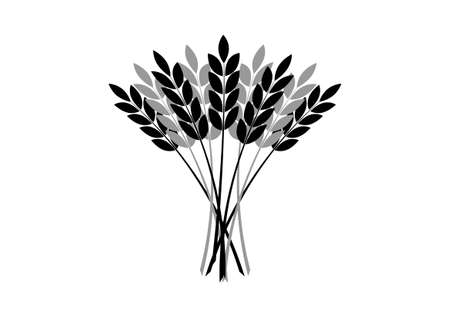 Agricultural icon on white background Vector