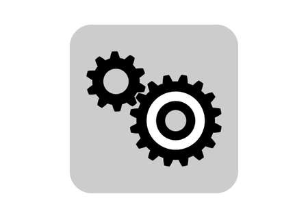 industrial machine: Industrial icon  Illustration