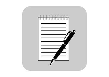 ballpoint: Ballpoint with notepad
