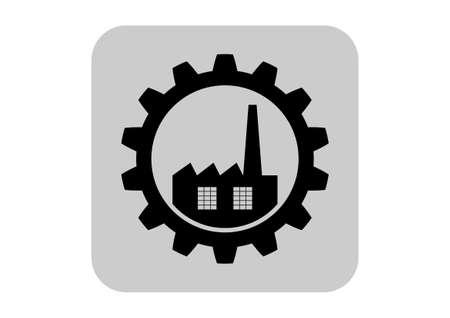 Industrie-Ikone