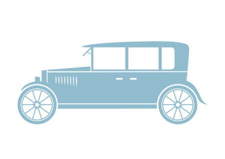 Car vector icon on white background Vector