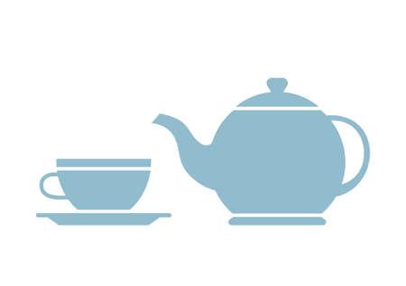 non alcoholic: Tea vector icon on white background