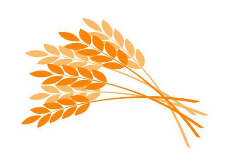 Grain vector icon on white background Vector