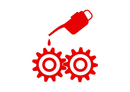 oilcan: Industrial vector icon on white background Illustration