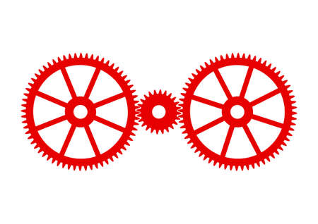 industrial icon: Industrial icon on white background Illustration