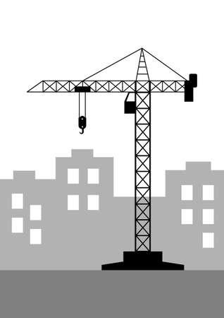 tower crane: Tower crane icon
