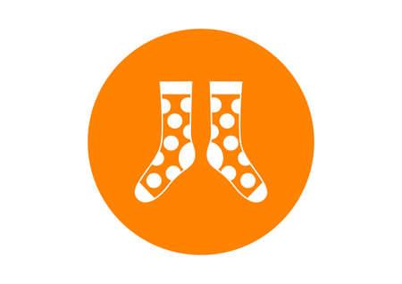 round: Round socks icon