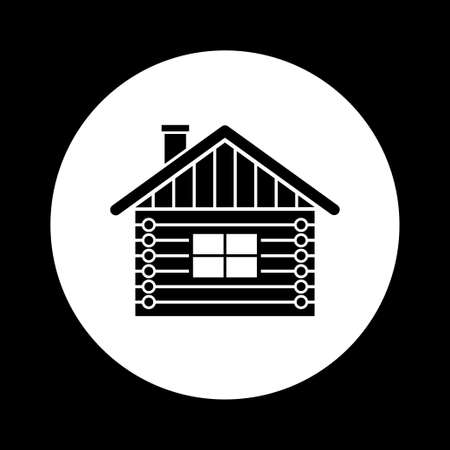 log house: Log house icon