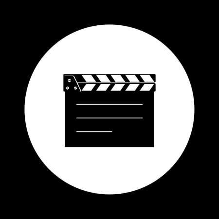 black and white: Black and white cinema icon